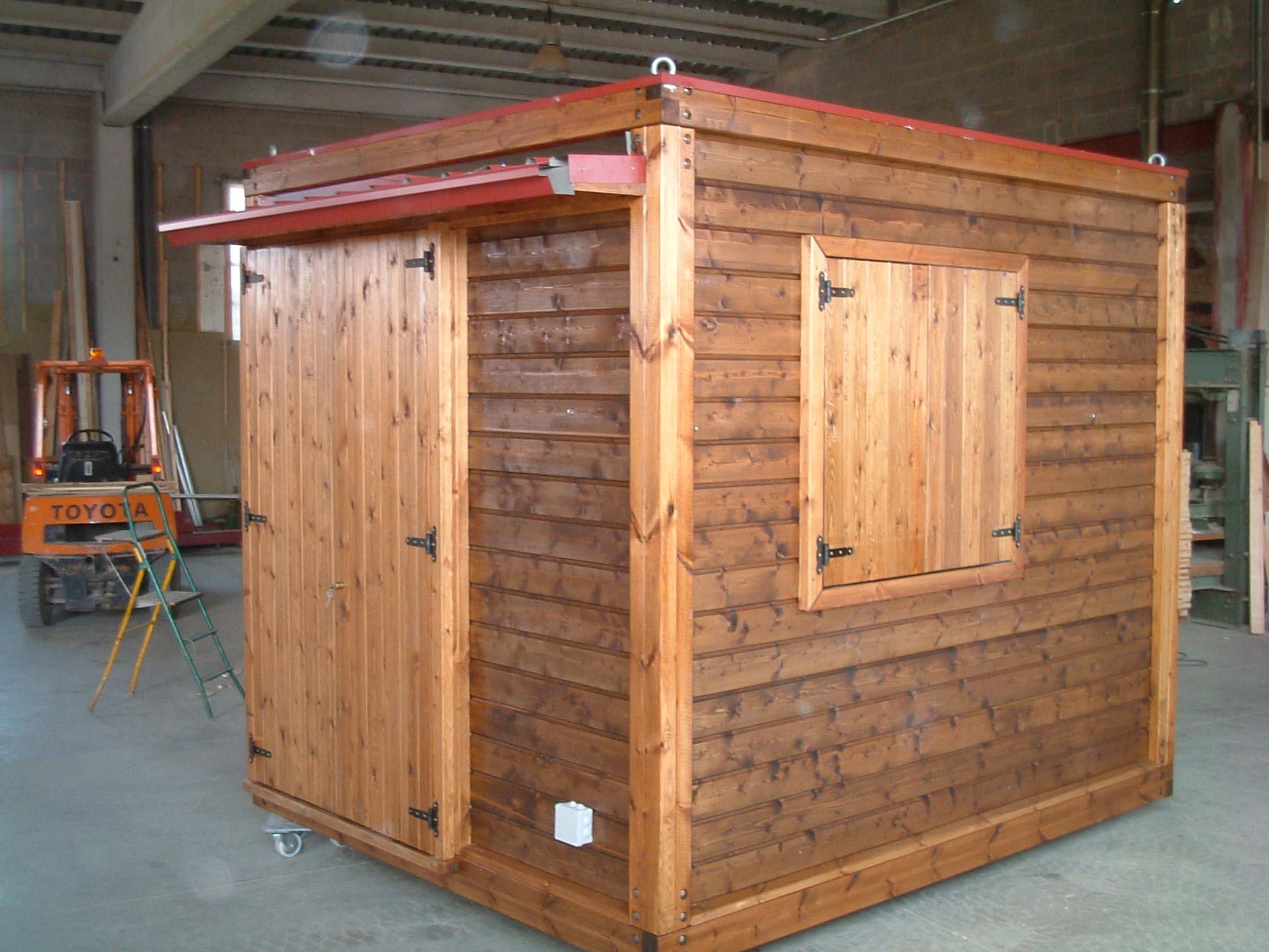 M dulos de madera fusteria esquius mecanizados con madera - Modulos de madera ...
